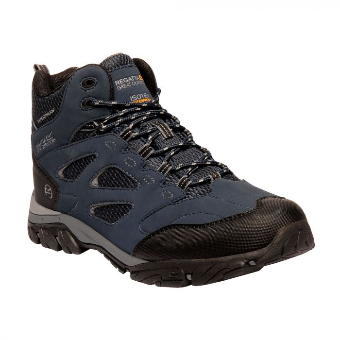 Regatta Holcombe IEP Mid Boots Navy Granite