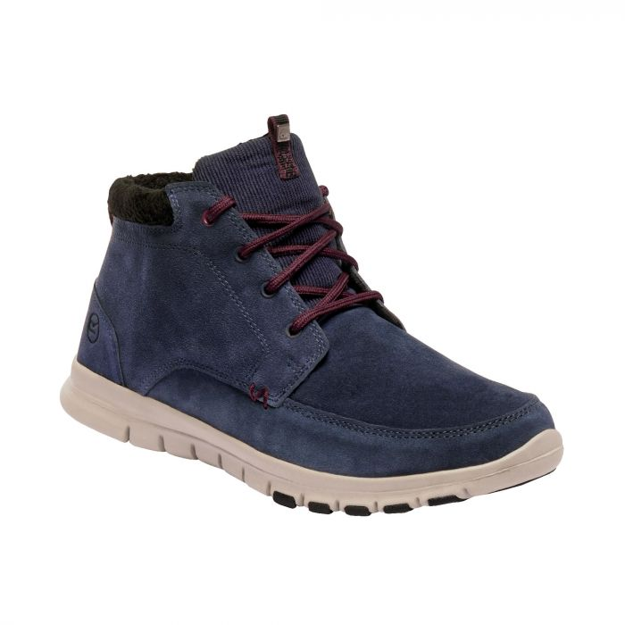 Regatta Marine Mid Thermo Boots Navy Burgundy