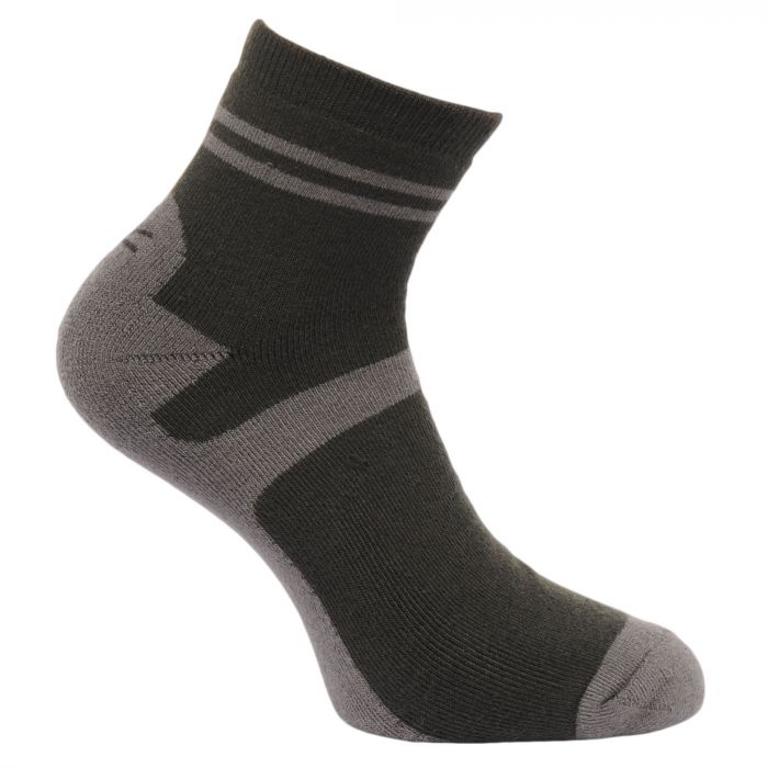 Regatta Men's 3 Pack Lifestyle Socks RavenBayleafNavy