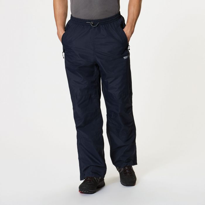 Regatta Chandler III Breathable Waterproof Overtrousers Navy