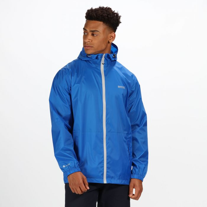 Regatta Pack-It Jacket III Waterproof Packaway Oxford Blue