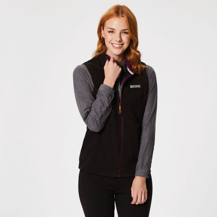 Regatta Sweetness Bodywarmer II Black/Blackcurrant
