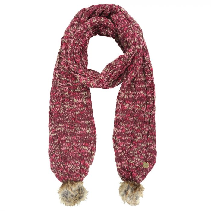 Regatta Frosty II Knitted Scarf Burgundy