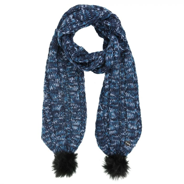 Regatta Frosty II Knitted Scarf Navy