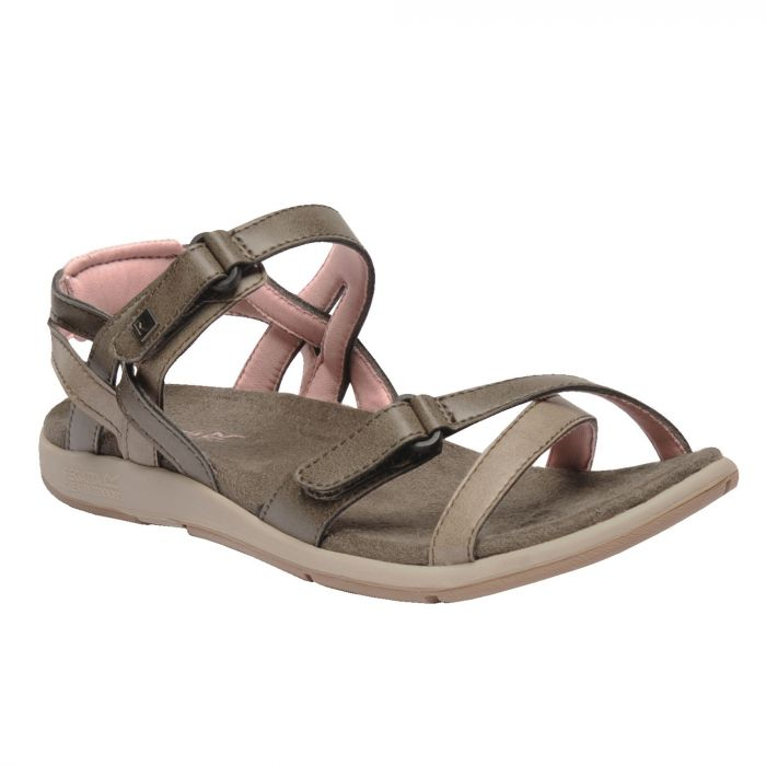 Women's Santa Cruz Strap Sandals Walnut Mellow Rose