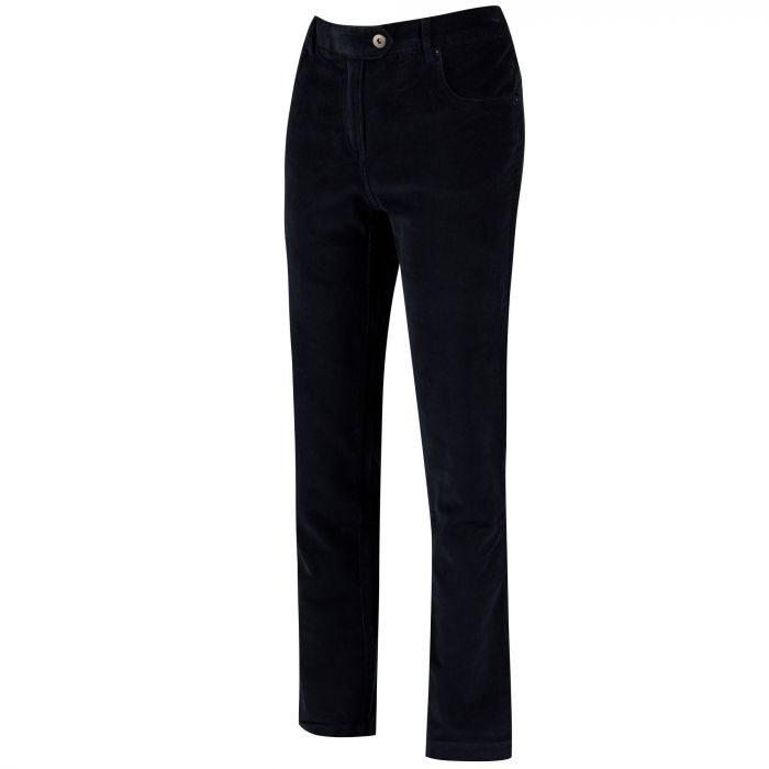 Regatta Dariela Cotton Corduroy Trousers Navy