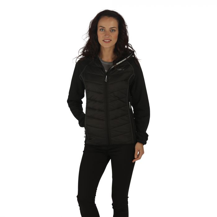 Regatta Women's Andreson II Hybrid Stretch Lightweight Insulated Jacket Black