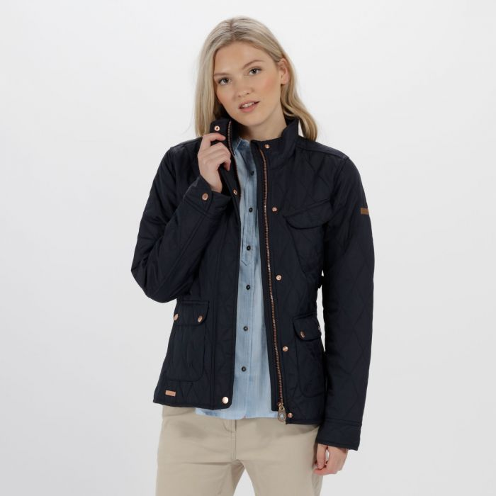 Regatta Camryn Quilted Jacket Navy