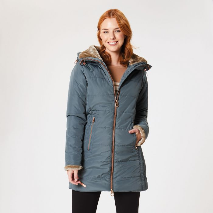Regatta Pernella Insulated Jacket Balsam Green