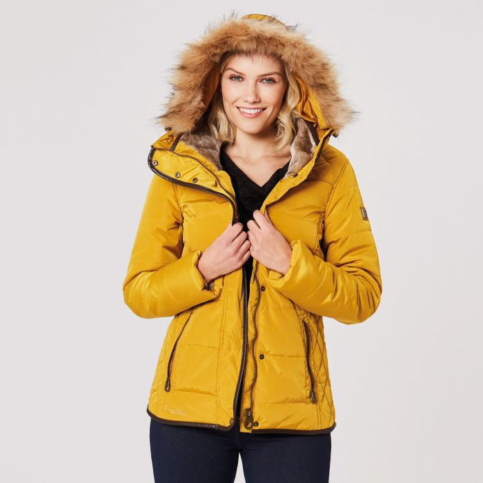 Regatta Winika Insulated Jacket Mustard Seed