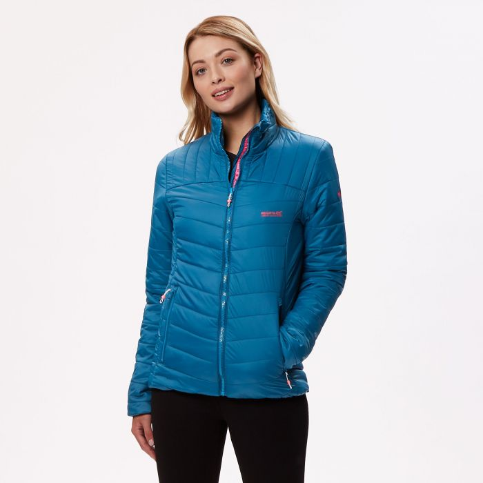 Regatta Women's Icebound III Medium Weight Insulated Jacket Moroccan Blue