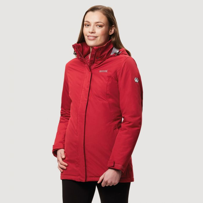 Regatta Blanchet II Waterproof Insulated Jacket Tibetan Red