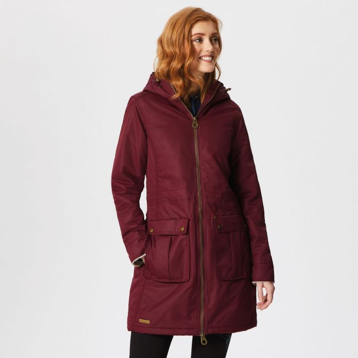Regatta Romina Waterproof Insulated Jacket Burgundy