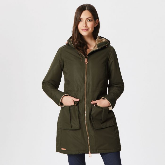 Regatta Romina Waterproof Insulated Jacket Dark Khaki