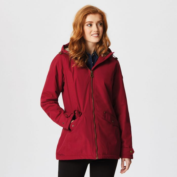 Regatta Bergonia Waterproof Insulated Jacket Rumba Red