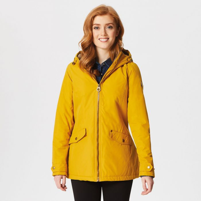 Regatta Bergonia Waterproof Insulated Jacket Mustard Seed