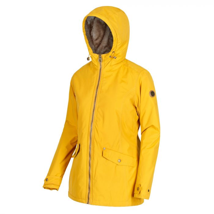b46ddf2b8d1 Regatta Bergonia Waterproof Insulated Jacket Mustard Seed