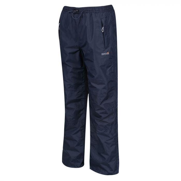 Regatta Women's Amelie III Waterproof Overtrousers Navy