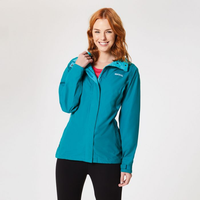 Regatta Daysha Waterproof Shell Jacket Deep Lake Atlants