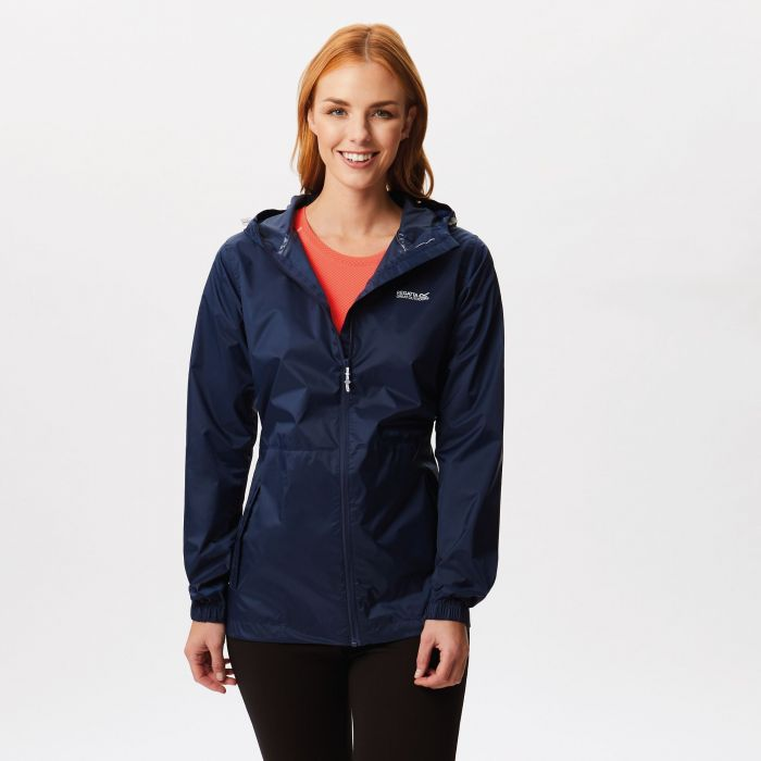 Regatta Women's Pack-It Jacket III Waterpoof Packaway Midnight