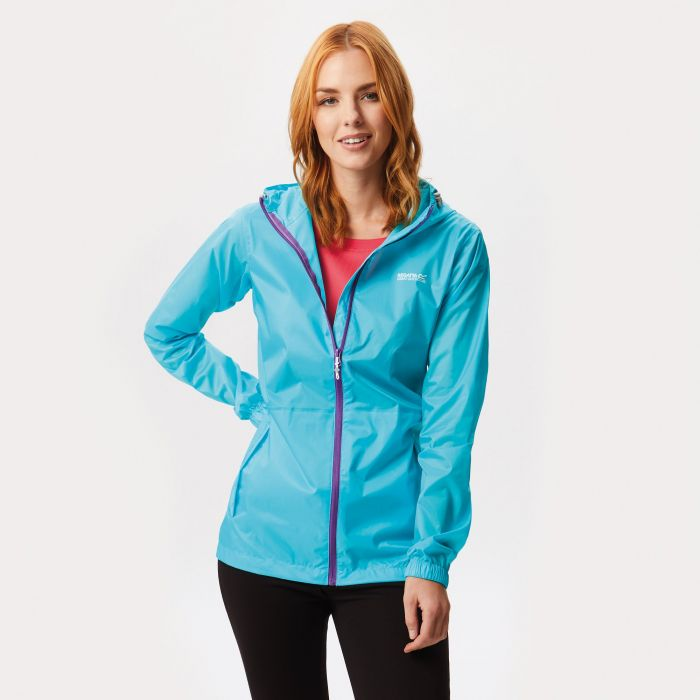 Regatta Women's Pack-It Jacket III Waterproof Packaway Horizon