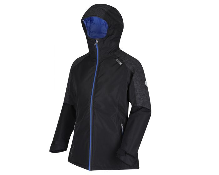 Regatta Women's Garforth Waterproof Jacket - Black Seal Grey
