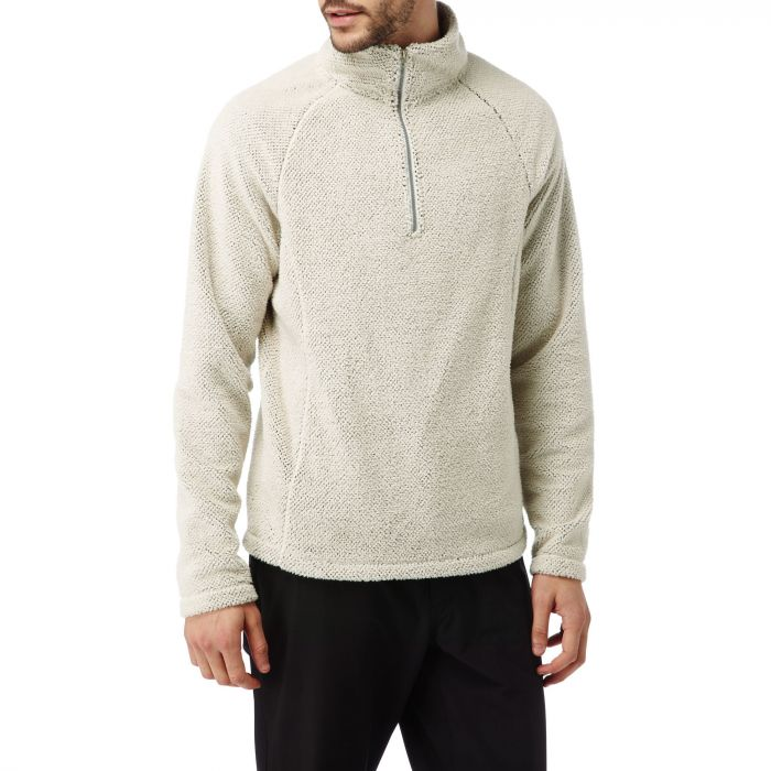 Craghoppers Barston Half-Zip Fleece Ecru