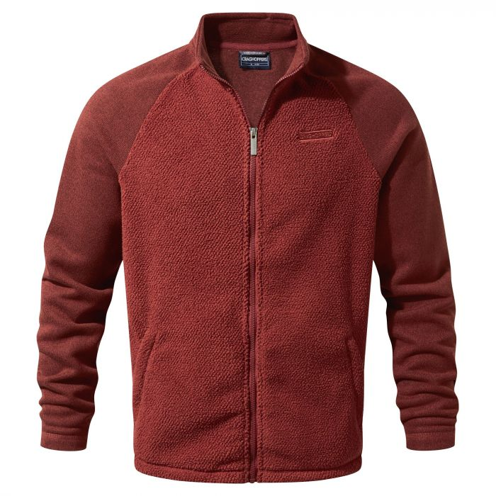 Craghoppers Mackay Jacket Red Earth