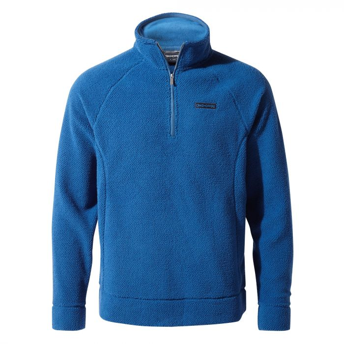 Craghoppers Cason Half-Zip Fleece - Deep Blue