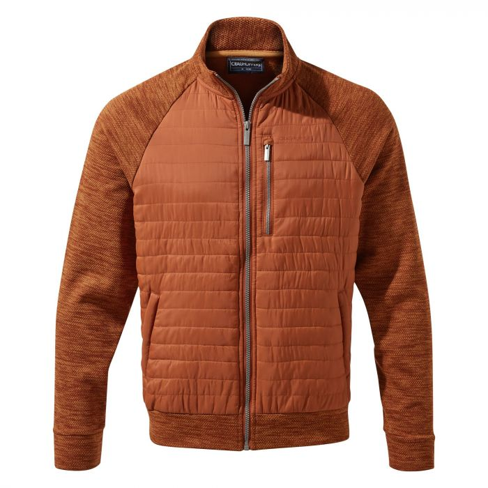 Craghoppers Attilo Hybrid Jacket - Burnt Whisky