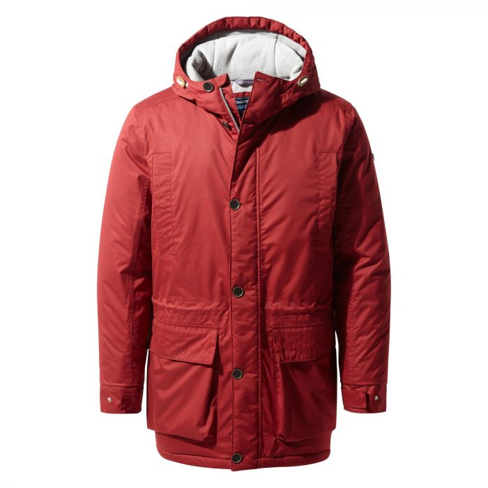 Craghoppers Turriff Jacket Firth Red / Platinum / Black