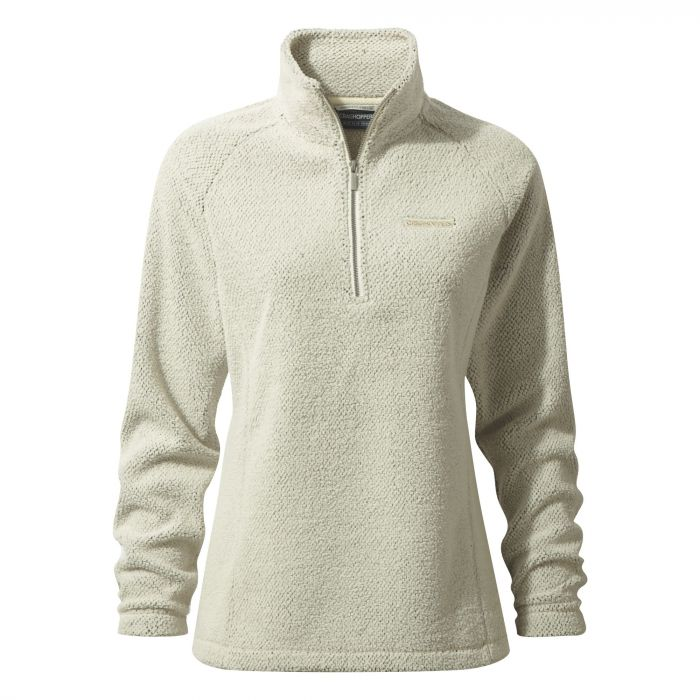 Craghoppers Moira Half-Zip Fleece Ecru