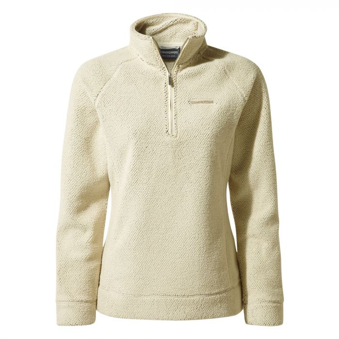 Craghoppers Ambra Half-Zip Fleece - Ecru