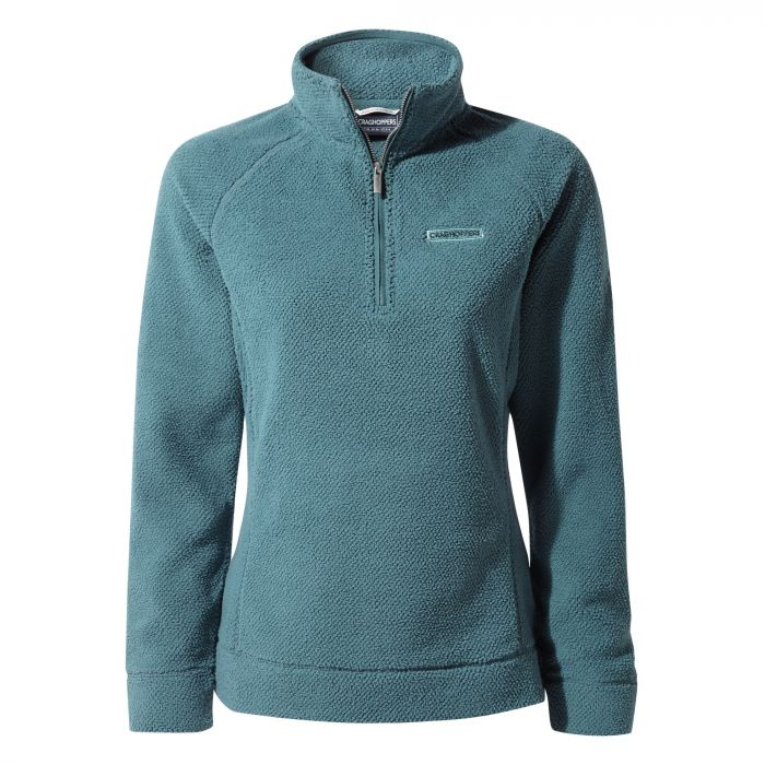 Craghoppers Ambra Half-Zip Fleece - Venetian Teal
