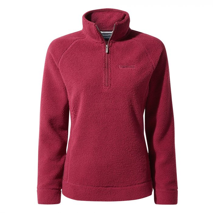 Craghoppers Ambra Half-Zip Fleece - Amalfi Rose
