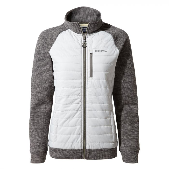 Craghoppers Abree Hybrid Jacket - Platinum