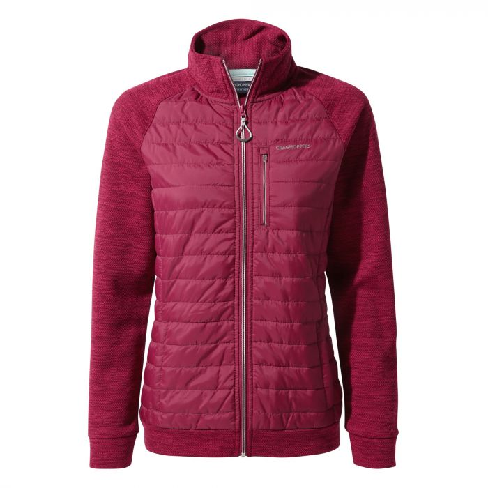 Craghoppers Abree Hybrid Jacket - Amalfi Rose
