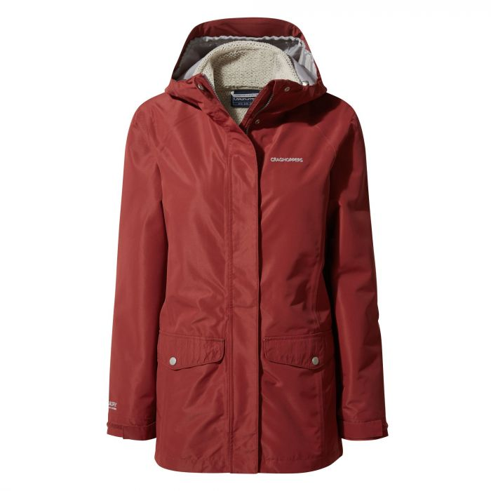 Craghoppers Felicity 3 in 1 Jacket Redwood