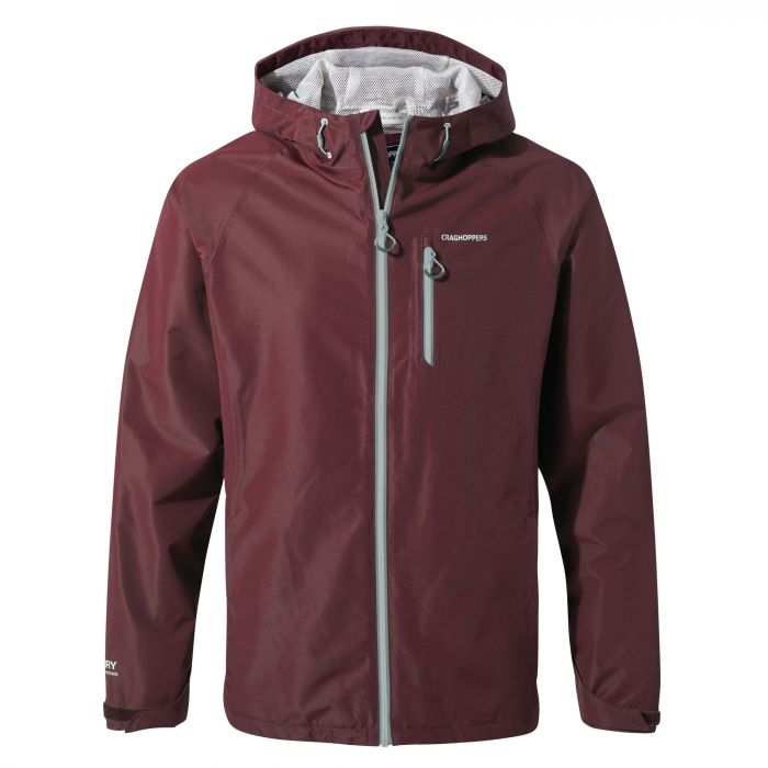 Craghoppers Rosedale Jacket Dark Rioja Red
