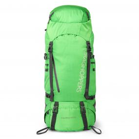 Craghoppers 60L + 10L Hooded Rucksack Kryptonite