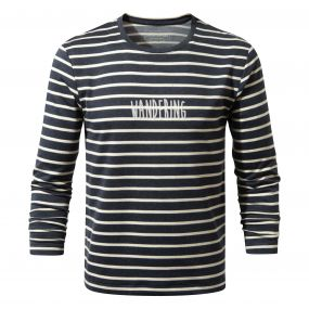 Craghoppers Erna Long-Sleeved Tee Soft Navy Combo