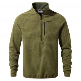 Craghoppers Liston Half-Zip Fleece Dark Moss