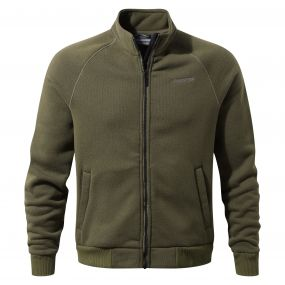Craghoppers Henrik Fleece Jacket Dark Moss