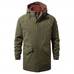 Craghoppers 250 Jacket Dark Moss / Redwood