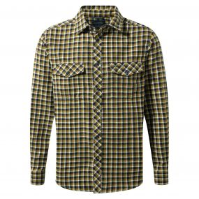 Kiwi Long-Sleeved Check Shirt Dark Navy Combo