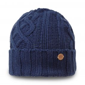 Craghoppers Dolan Knit Hat Night Blue