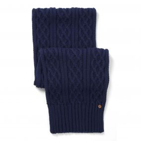 Craghoppers Dolan Knit Scarf Night Blue