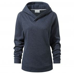 Craghoppers Callins Hooded Top Soft Navy Marl