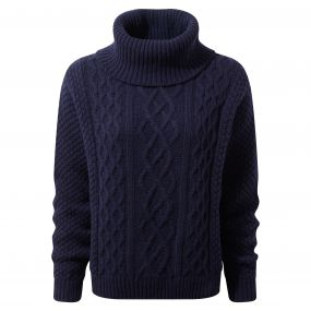 Craghoppers Anja Roll Neck Soft Navy