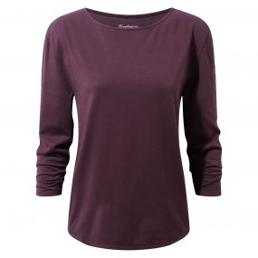Craghoppers Delamere Long-Sleeved Top Winterberry